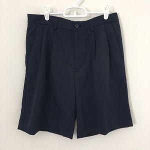 Izod Golf Shorts Size 30 Navy Blue